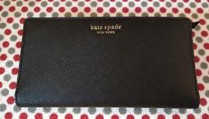 NWT Kate Spade Cameron Large Slim Bi-fold Wallet